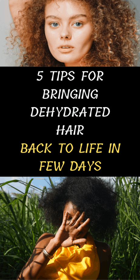 5 Tips For Bringing Dehydrated Hair Back To Life In Few Days