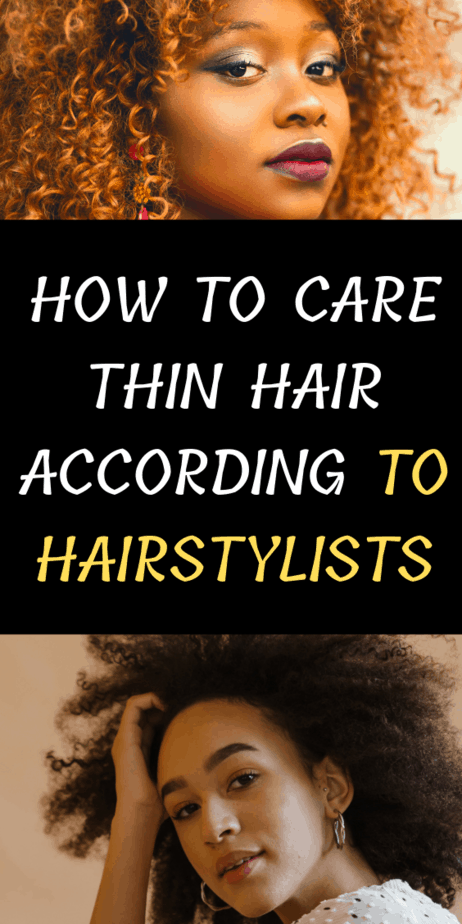 How To Care Thin Hair According To Hairstylists