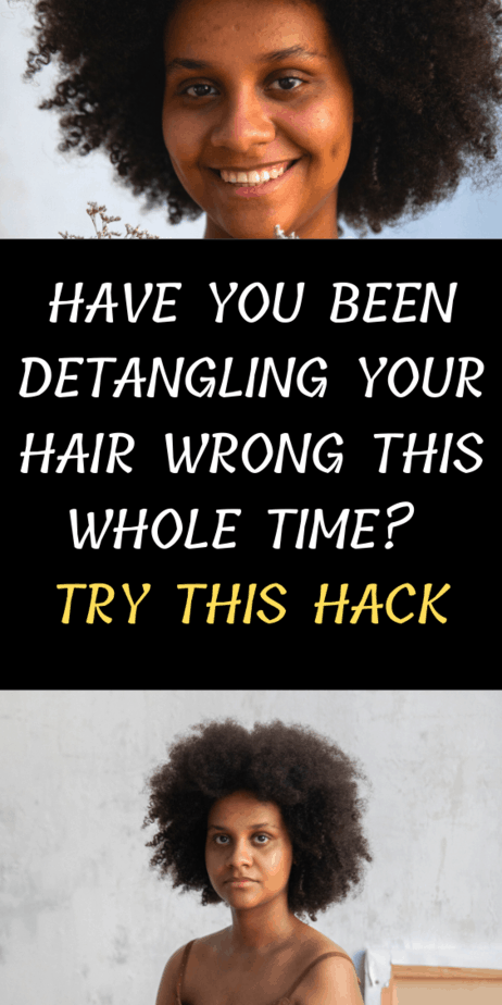 Have You Been Detangling Your Hair Wrong This Whole Time? Try This Hack