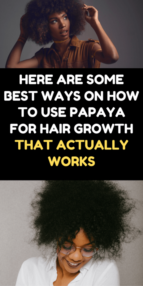 Here Are Some Best Ways On How To Use Papaya For Hair Growth That Actually Works
