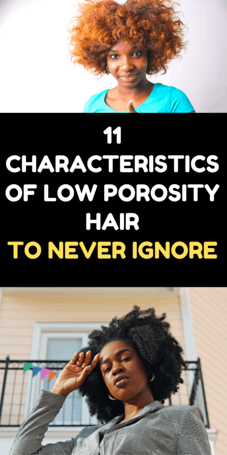 11 Characteristics Of Low Porosity Hair To Never Ignore